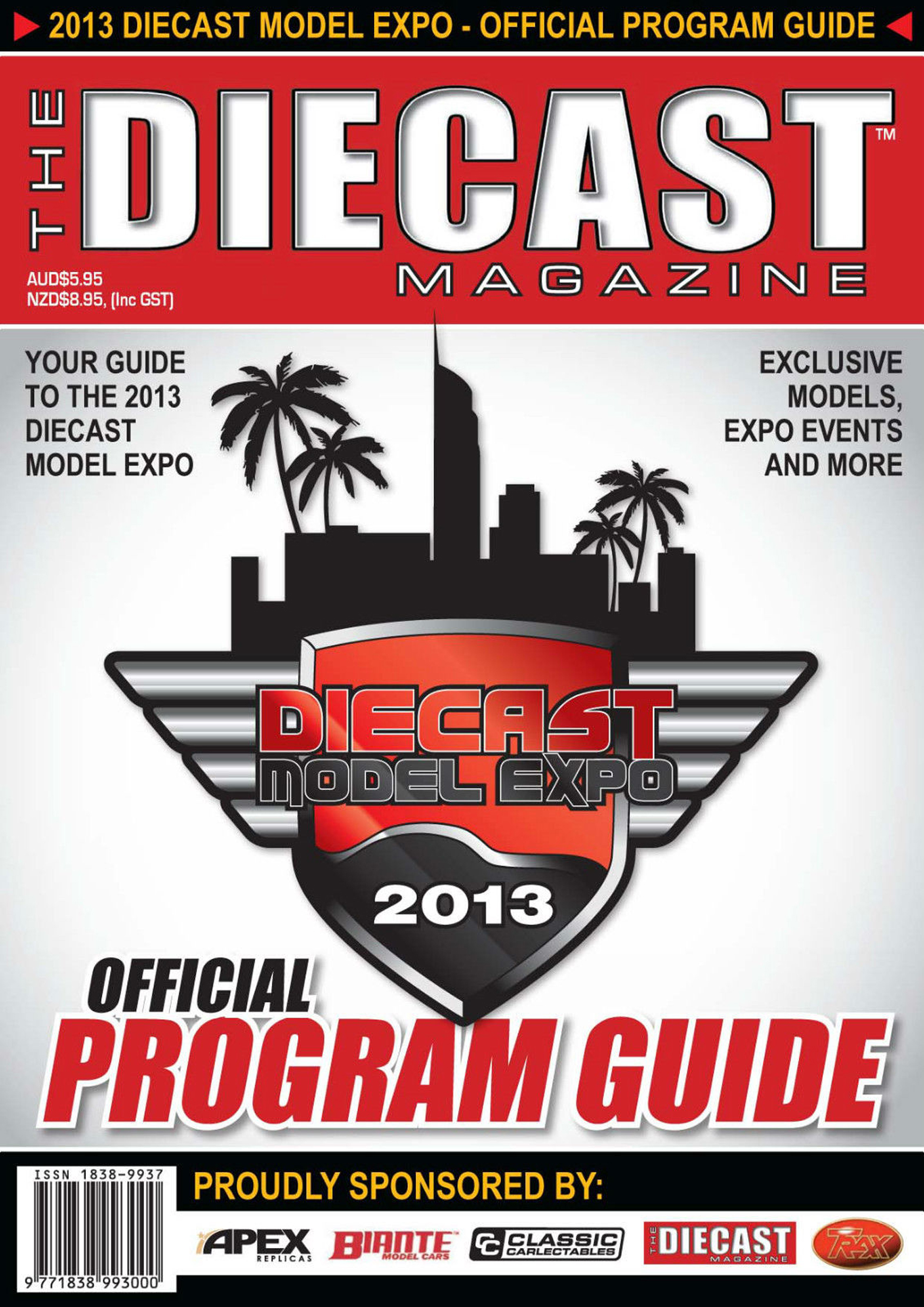 2013 Diecast Model Expo Official Program Guide