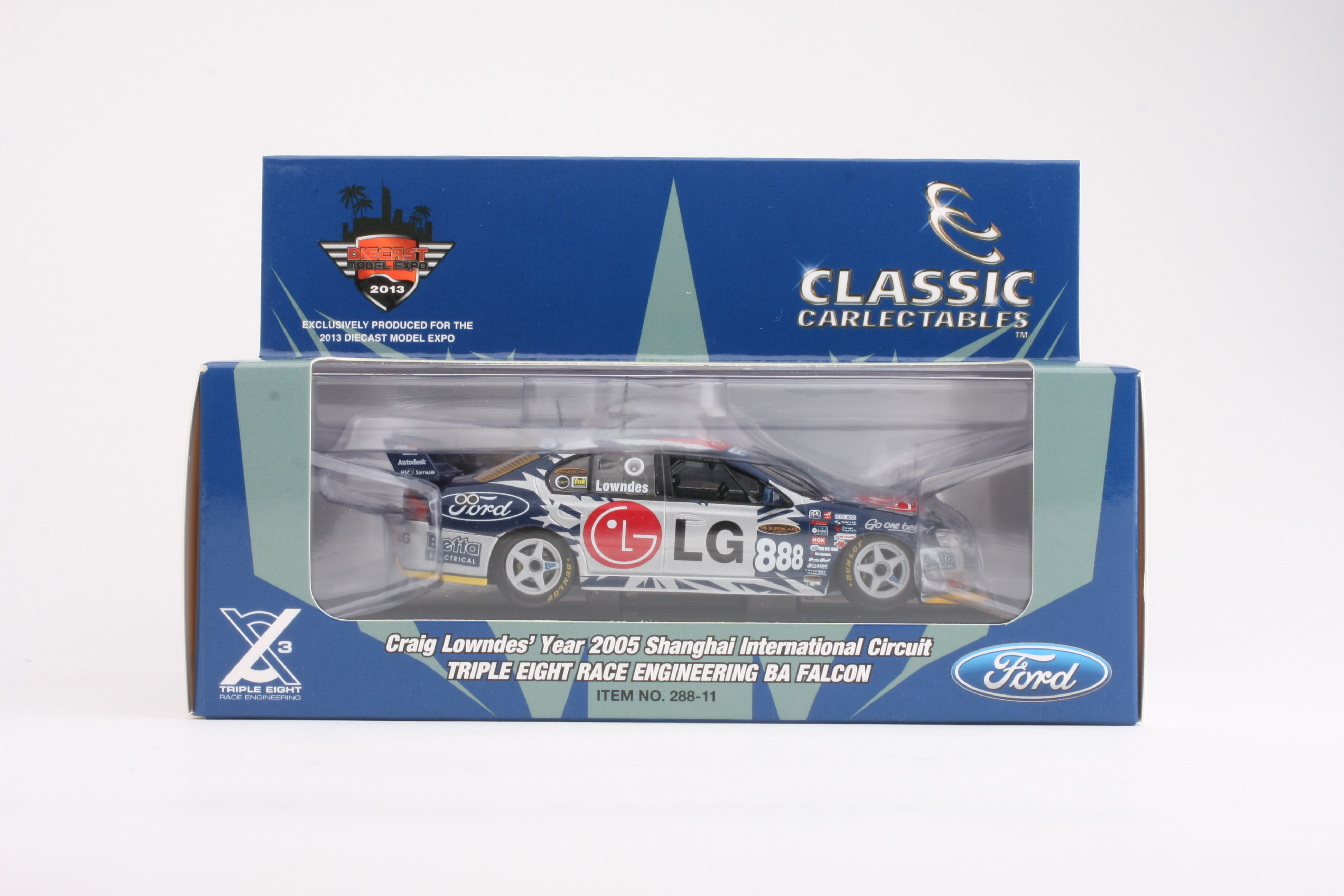 2005 888 BA V8 Supercar Lowndes Diecast Model Car