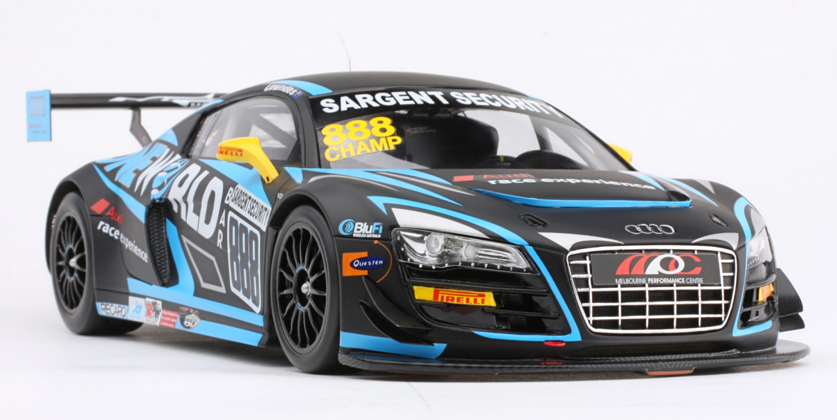 Resin Model Car – 2012 GT Series Audi R8 LMS – Craig Lowndes