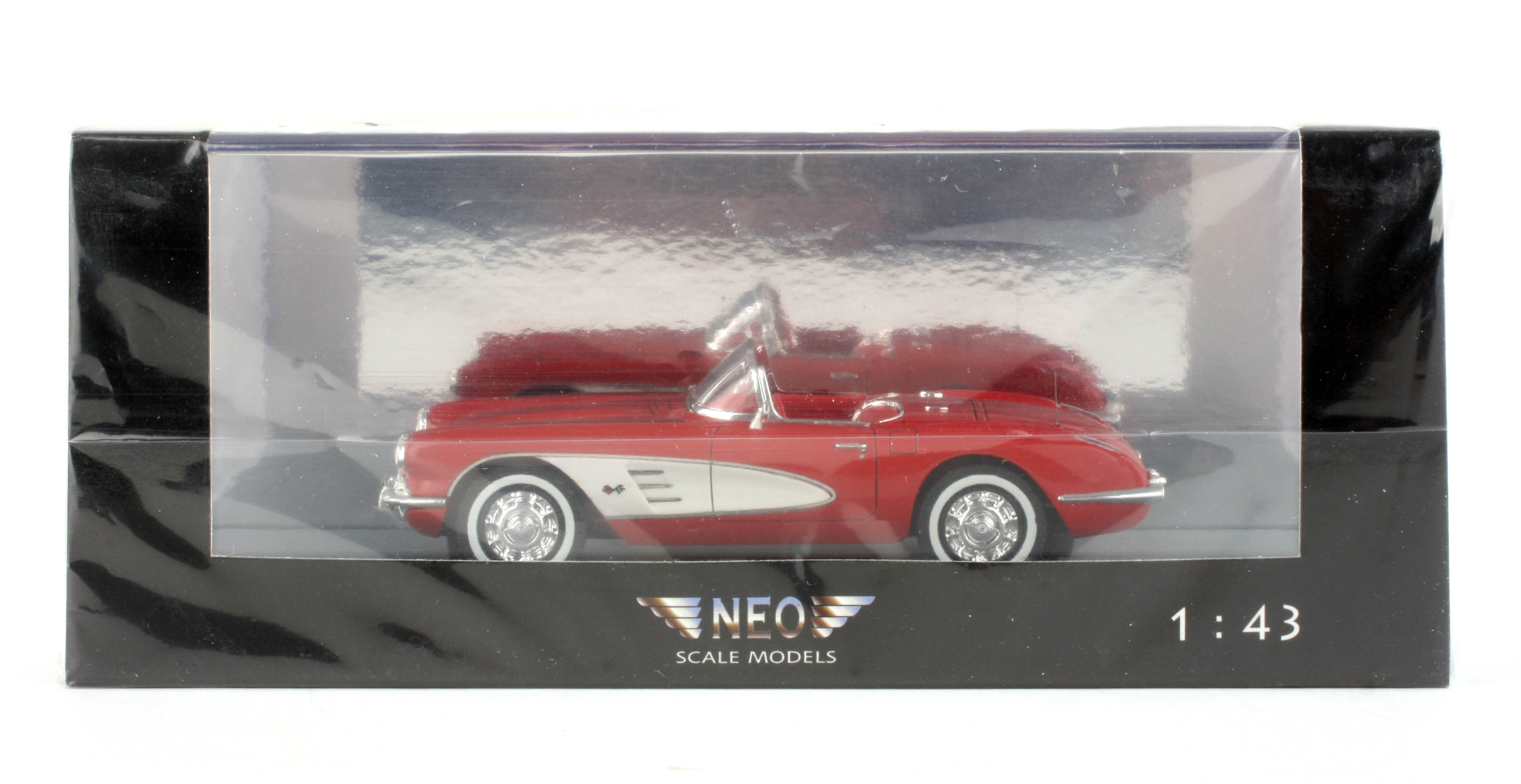 NEO Scale Models Chevrolet Corvette (C1) Convertible 1959 NEO45995 1/43