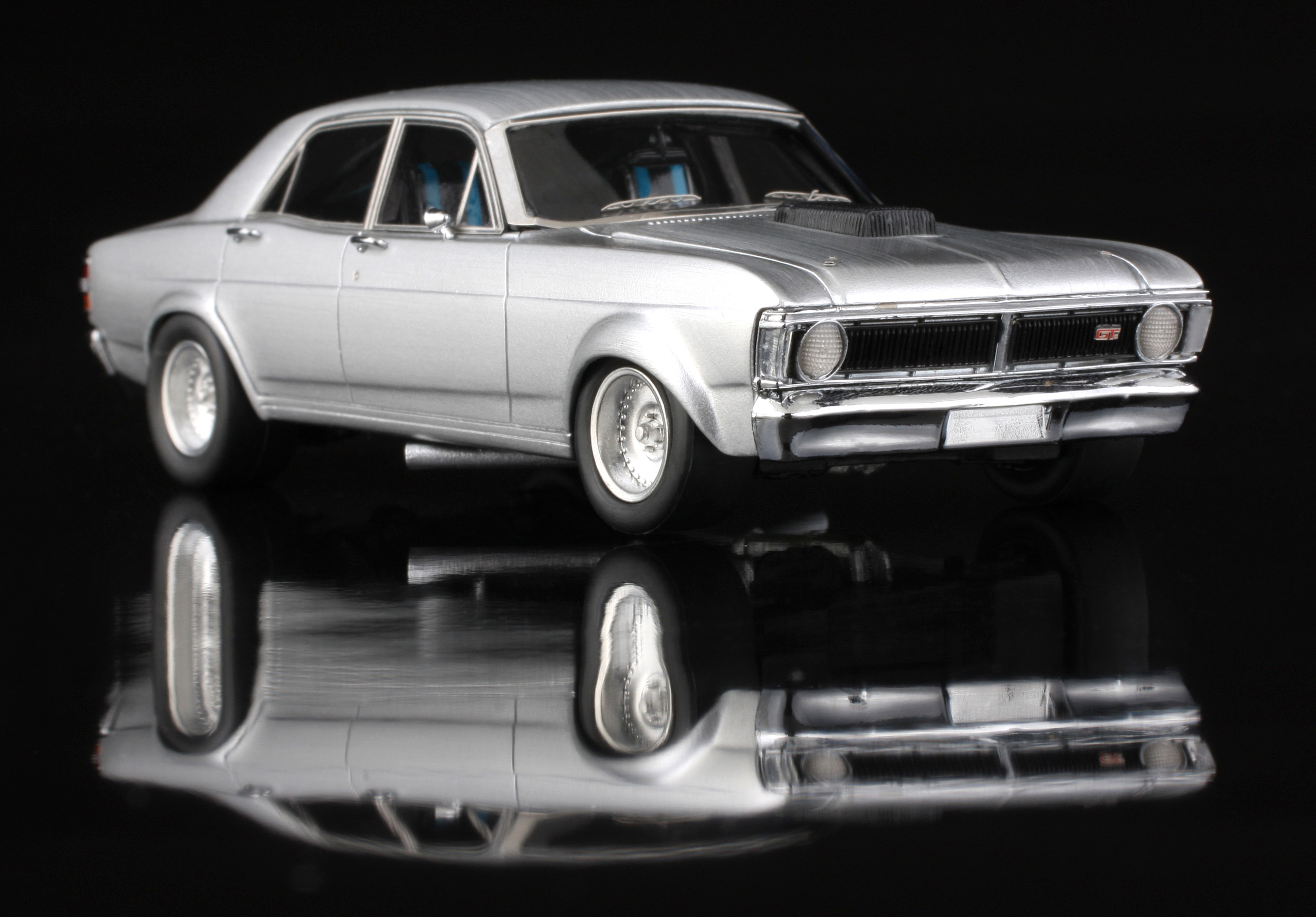 AMR – 1:43 'Real Steel' Ford Super Falcon Australia Model Replicas Resin Model Car