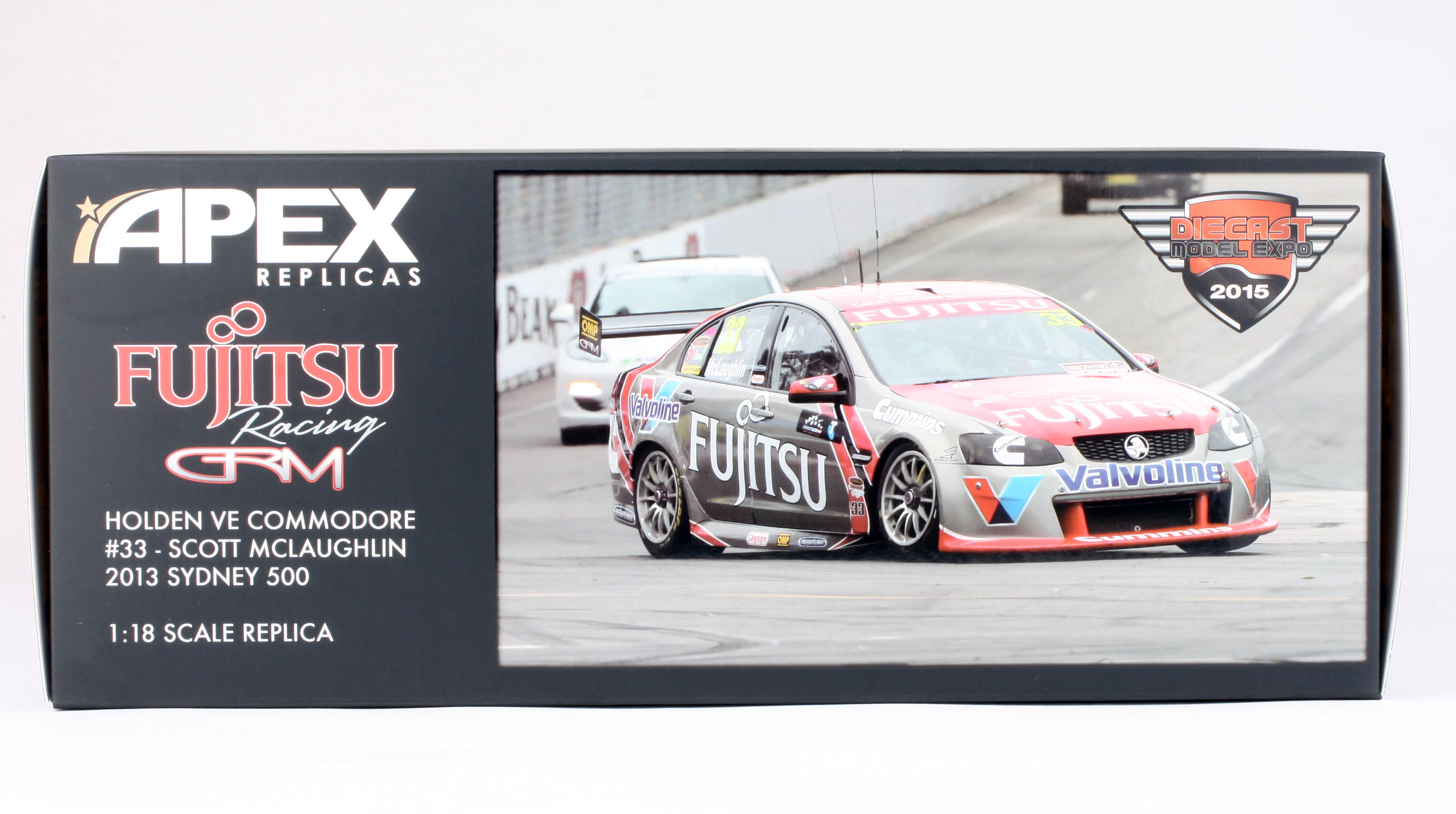 Holden VE Commodore #33 Scott Mclaughlin 2013 Sydney 500 Resin Model Car Apex 1:18 Model car