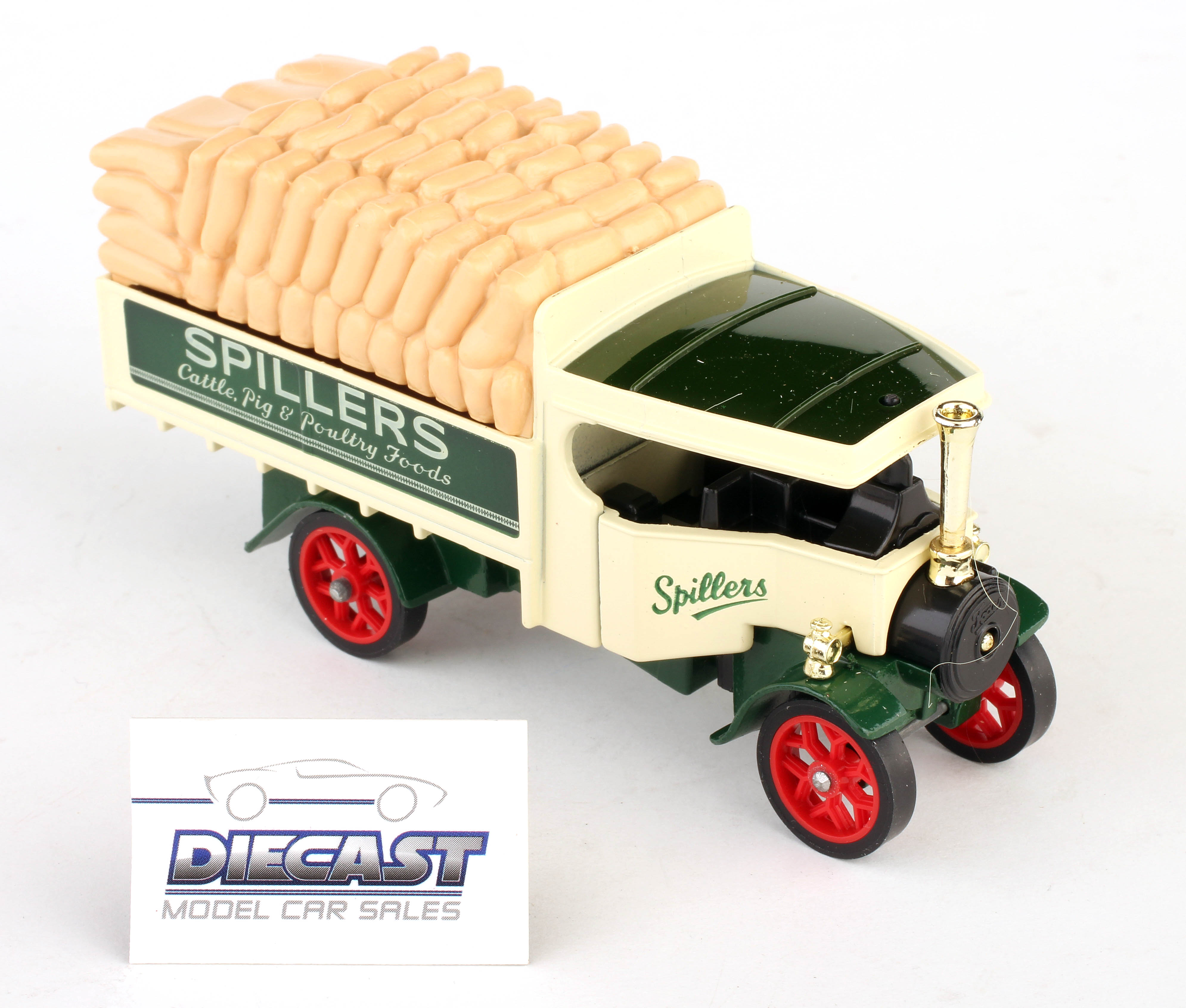Matchbox 1:72 Models of Yesteryear 1922 Foden Steam Lorry (Spillers) - Y-27