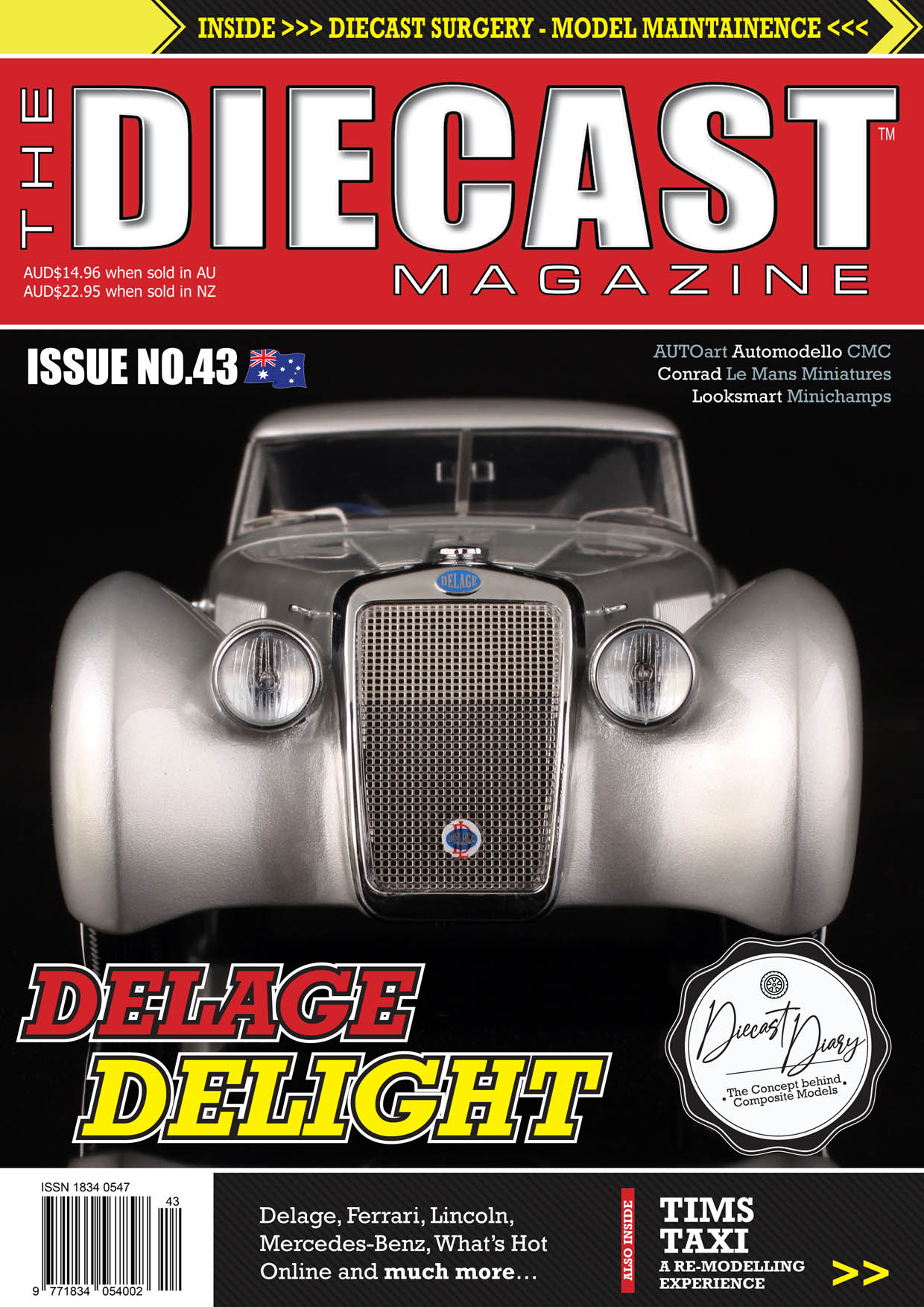 TDMAU43 - Front Cover