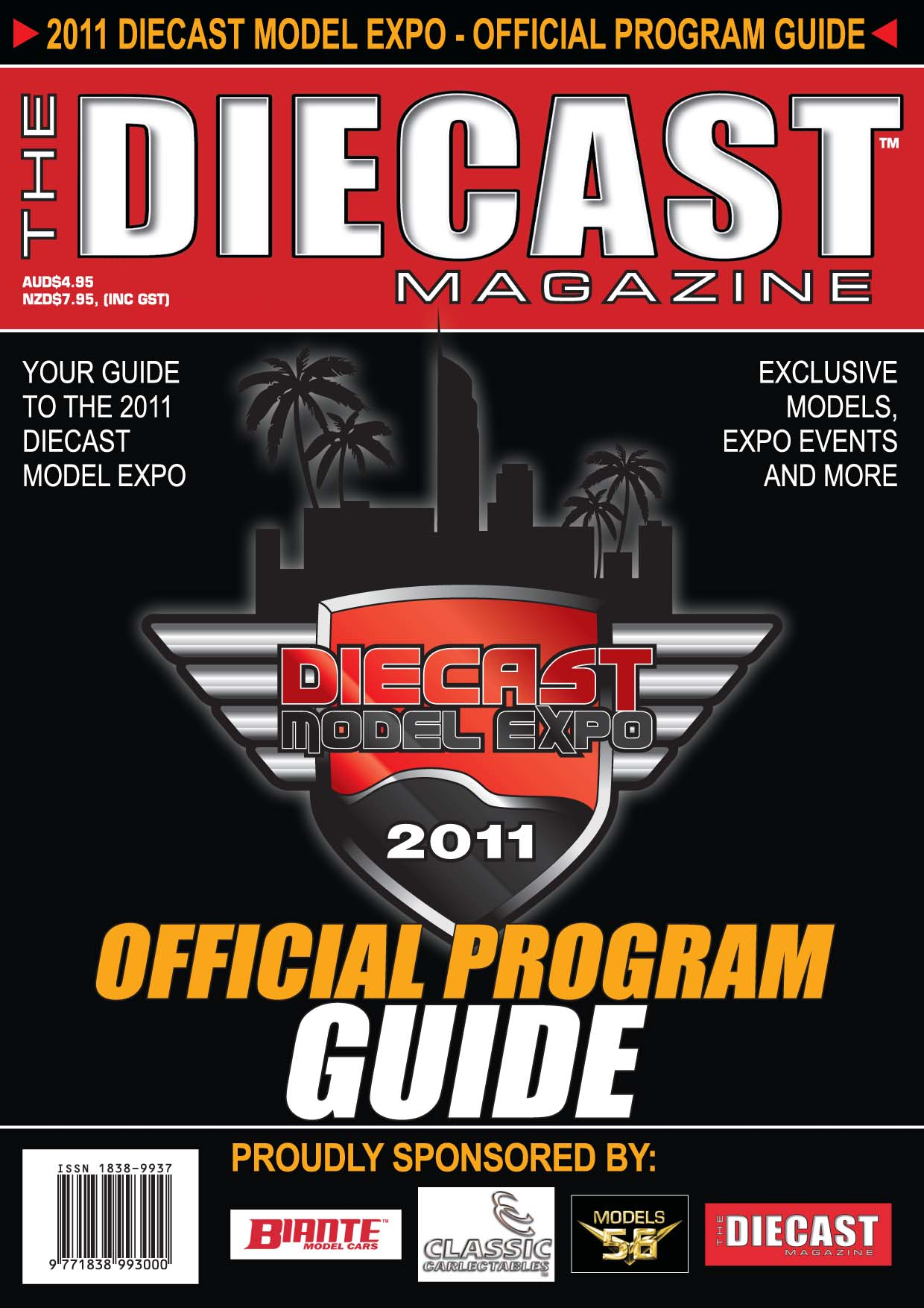 2011 Diecast Model Expo Program Guide