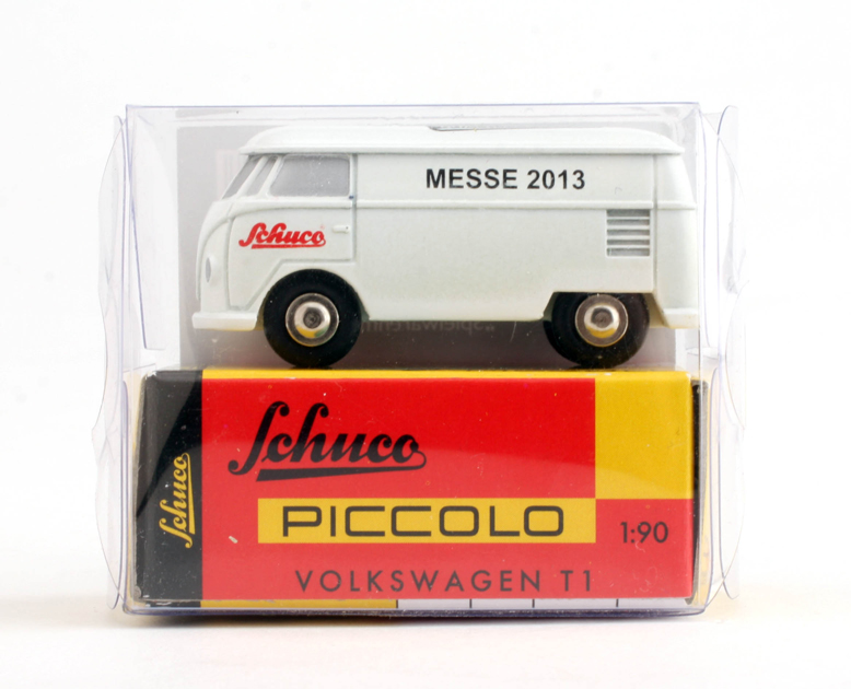 1.87 Schuco Diecast Model Car - Vokswagen T1 Van - 2013 Germany Toyfair - Promo Model
