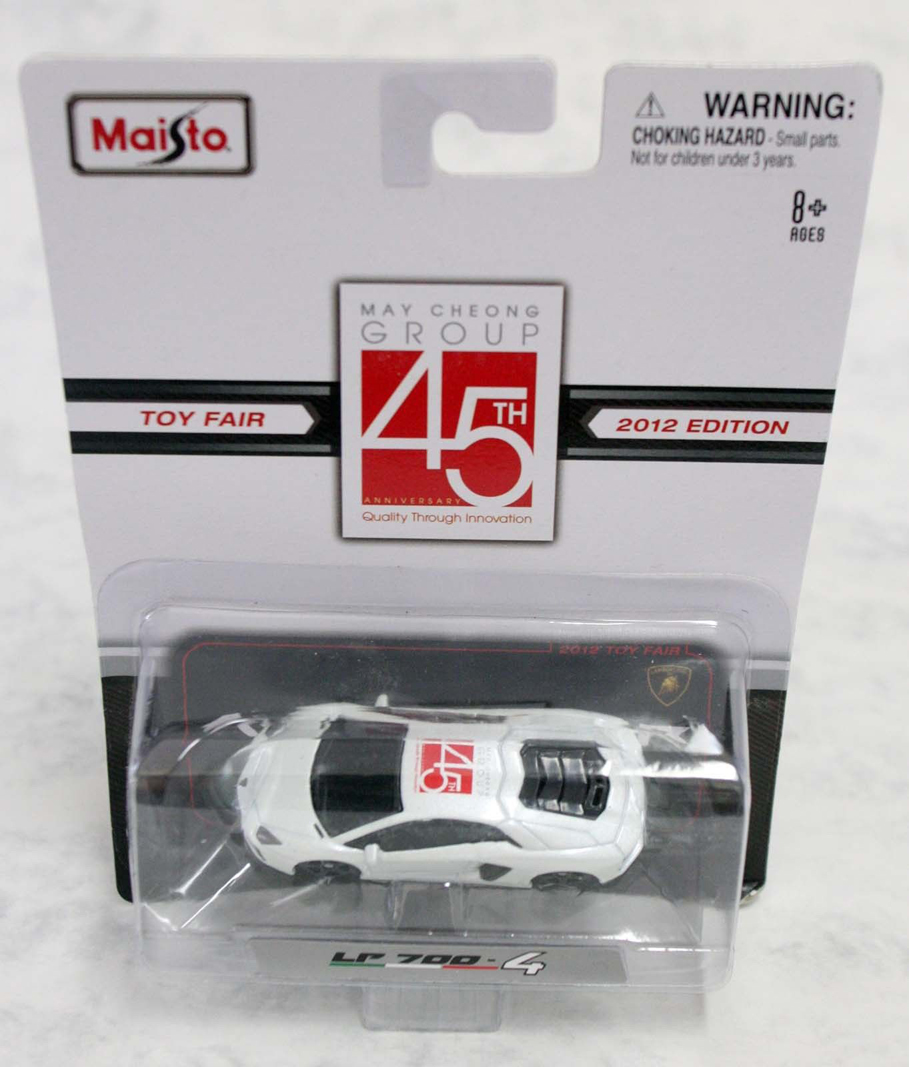 1:64 Maisto Aventador LP 700-4 – May Cheong Group 45th Anniversary Toy Fair 2012 Diecast Model Car