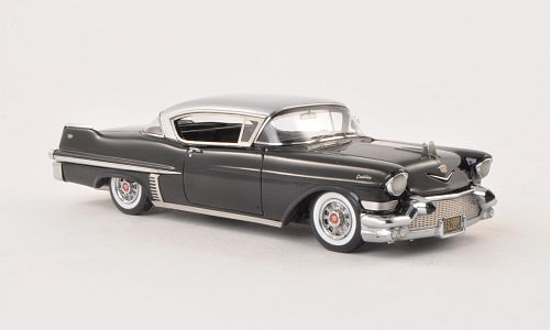 Cadillac Series 62 Hardtop Coupe, schwarz/silber  Please click on image to see details.  Scale: 1:43 Art.Number: NEO45809